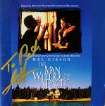 James Horner: The Man Without a Face - signed CD