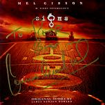 James Newton Howard: Signs - signed CD