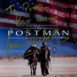 James Newton Howard: The Postman - signed CD