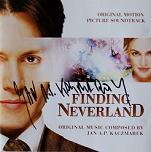 Jan A. P. Kaczmarek: Finding Neverland - signed CD