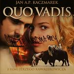 Jan A. P. Kaczmarek: Quo Vadis - signed CD
