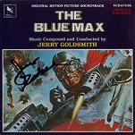 Jerry Goldsmith: The Blue Max - signed CD