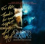 Joel McNeely: Ghosts of the Abyss - signed CD