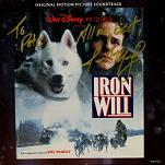 Joel McNeely: Iron Will - signed CD