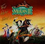 Joel McNeely: Mulan 2 - signed CD