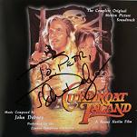 John Debney: Cutthroat Island - signed CD