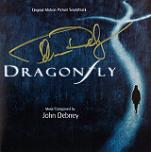 John Debney: Dragonfly - signed CD