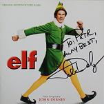 John Debney: Elf - signed CD