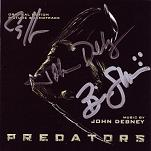 John Debney: Predators - signed CD