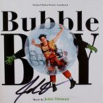 John Ottman: Bubble Boy - signed CD