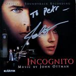 John Ottman: Incognito - signed CD