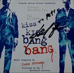 John Ottman: Kiss Kiss Bang Bang - signed CD
