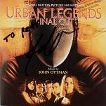 John Ottman - Urban Legends: Final Cut - signed CD