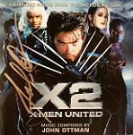 John Ottman: X2 X-Men United Expanded Score - signed CD