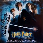 Harry Potter and the Chamber of Secrets - CD signed by Williams Ross