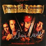 Klaus Badelt - Pirates of the Caribbean: The Curse of the Black Pearl - signed CD