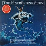 Klaus Doldinger & Giorgio Moroder - The Neverending Story - signed CD