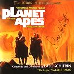 Lalo Schifrin: Planet of the Apes (TV Series) - signed CD