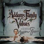 Marc Shaiman: Addams Family Values - signed CD