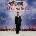 Marc Shaiman: Hearts and Souls - signed CD