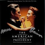 Marc Shaiman: The American President - signed CD