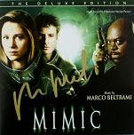 Marco Beltrami: Mimic - signed CD