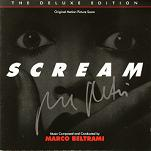 Marco Beltrami: Scream - signed CD