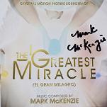 Mark McKenzie: The Greatest Miracle - signed CD