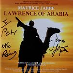Maurice Jarre: Lawrence of Arabia - signed CD