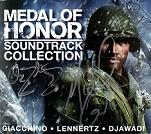Michael Giacchino & Christopher Lennertz & Ramin Djawadi: Medal of Honor Collection - signed CD