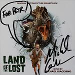 Michael Giacchino: Land of the Lost - signed CD