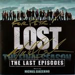Michael Giacchino - Lost Final Season 6: The Last Episodes - signed CD
