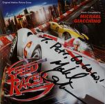Michael Giacchino: Speed Racer - signed CD