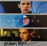 Michael Nyman: Gattaca - signed CD