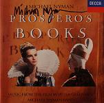 Michael Nyman: Prospero's Books - signed CD
