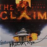 Michael Nyman: The Claim - signed CD