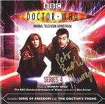 Murray Gold: Doctor Who Series 4 - signed CD