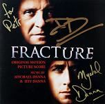 Mychael Danna and Jeff Danna: Fracture - signed CD