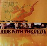 Mychael Danna: Ride with the Devil - signed CD