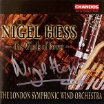 Nigel Hess: The Winds of Power - signed CD