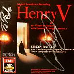 Patrick Doyle: Henry V - signed CD