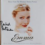 Rachel Portman: Emma - signed CD