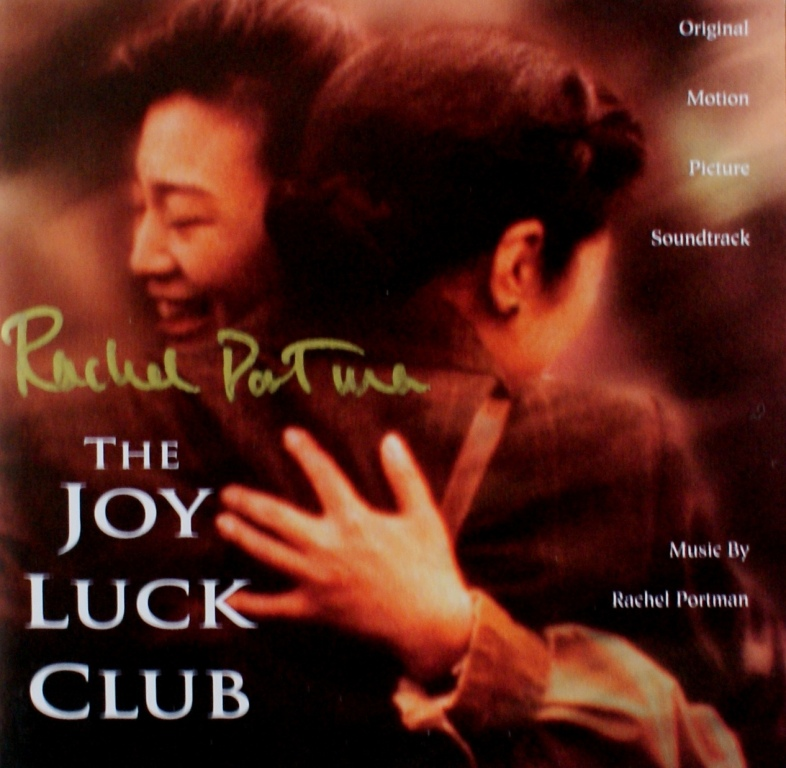 rachel portman the film composer and her music  rachel portman the joy luck club signed cd