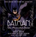 Shirley Walker, Lolita Ritmanis & Michael McCuistion - Batman: The Animated Series - signed CD