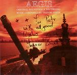 Trevor Jones: Aegis - signed CD