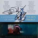 Various Composers - A Symphony of Hope: The Haiti Project - signed CD